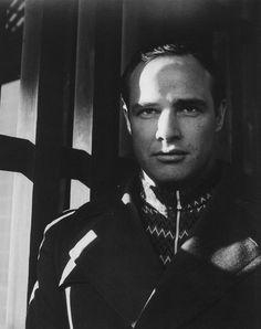 Marlon Brando by Cecil Beaton, 1954.