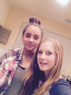 Me and Isabella the other night! bff time!
