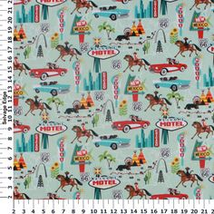 Hancock Fabrics provides quality materials that let your inner seamstress' imagination run wild. Find a variety of products from Hancock Fabrics at Michaels. Novelty Fabric, Retro Fabric, Quilt Patterns, Sewing Patterns, Camping Fabric, Hancock Fabrics, 6 Photos, Fabulous Fabrics, Route 66