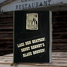100% REAL BBQ BBQ-Rezeptbuch / Gästebuch