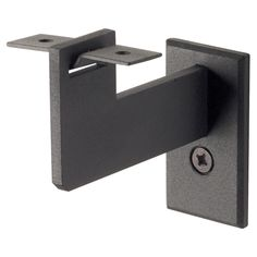Steel Handrail Bracket, Black