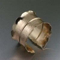 Fold Formed #Hammered Nu #Gold Cuff. Too bold not to be beautiful!   http://www.johnsbrana.com/fold-formed-hammered-nu-gold-cuff.html  $175.00
