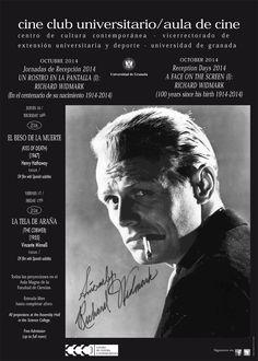 Jornadas de Recepción 2014: UN ROSTRO EN LA PANTALLA (I): RICHARD WIDMARK (en el centenario de su nacimiento, 1914-2014)