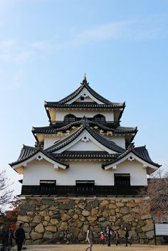 Hikone Castle@Hikone, Shiga,  Japan
