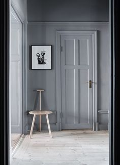 Grey interior hallway - Roomed