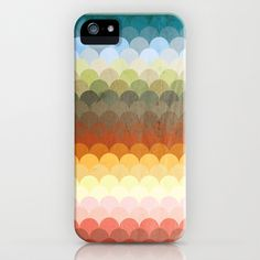 Half Circles Waves Color (2013) iPhone & iPod Case by Danny Ivan - $35.00