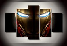 Own this amazing Iron Man Helmet Marvel Comics wall canvas today we will ship the canvas for free. This is the perfect centerpiece for your home. It is easy to assemble and hang the panels together which makes this a great gift for your loved ones. This painting is printed not handpainted and is ready to hang! We have 1 options for this canvas -- Size 1: (20x35cmx2pcs, 20x45cmx2pcs, 20x55cmx1pc) Limited quantities left. www.octotreasures.com