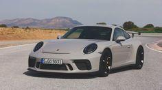 2018 Porsche 911 GT3 Crayon Exterior, Driving, Interior - http://porschehangout.com/2018-porsche-911-gt3-crayon-exterior-driving-interior/