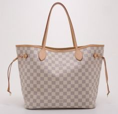 Louis Vuitton Neverfull Damier Azur Tote Bag. Get one of the hottest styles of the season! The Louis Vuitton Neverfull Damier Azur Tote Bag is a top 10 member favorite on Tradesy. Save on yours before they're sold out!