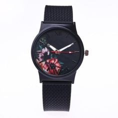 f62c26e7b92e Silicone Flower Watches (6 Colors Available)