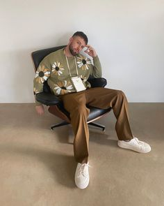 Retro Outfits, Mode Outfits, Vintage Outfits, Casual Outfits, Mode Streetwear, Streetwear Fashion, Outfits Hombre, Oui Oui, Mens Clothing Styles