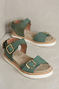 Coqueterra Mint Sandals #anthropologie perfect for park days with the boys!