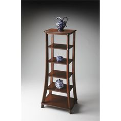 "BUTLER Etagere | 1226024  | Plantation Cherry | 24""W, 16""D, 56""H 