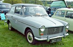 1961 Austin A40 Farina MKI 948cc 4-Cylinder BMC A Series OHV Engine