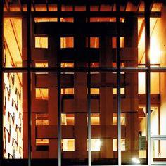 Drewniany blok przez Tadashi Yoshimura Architects