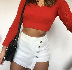 grafika bag, cool, and outfits Mode Outfits, Night Outfits, Skirt Outfits, Summer Outfits, Casual Outfits, Daily Fashion, Love Fashion, Girl Fashion, Fashion Outfits
