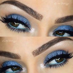 This eyes makeup is beautiful and vogue ❤️ absolutely breathtaking and noticeable