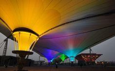 multicolored lighting