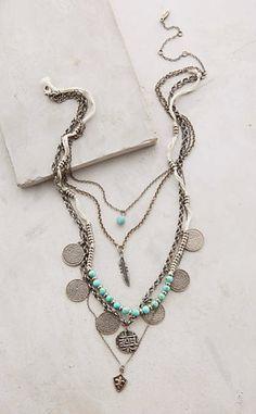 Layered Sonho Necklace #anthroregistry