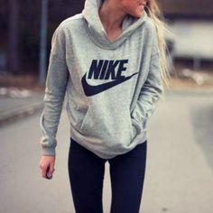 NIKE Women Fashion Hooded Top Pullover Sweater Sweatshirt  http://feedproxy.google.com/fashionshoes11