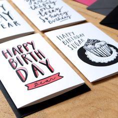 birthday cards / Karolína Stryková / tabletters