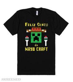 8f9f2893a43c Feliz Cinco de Mayo-Craft - American Apparel Unisex Fitted T-shirt – Black