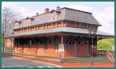 WINDSOR, CT USA - New Haven RR - now Amtrak RAILROAD STATION ed Pinterest - Quaint 2nd Empire Revival Style architecture OL