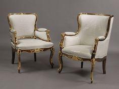 A Companion Pair of Russian Gilt-Bronze Mounted Armchairs. Russia, Circa 1870. - Adrian Alan