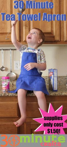 Make a Tea Towel Apron