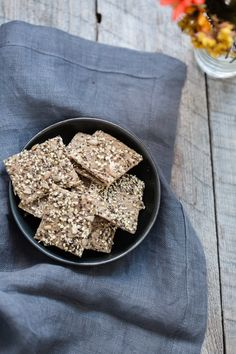 Handmade Gluten-Free Oat Crackers, 2 Ways | Kris Osborne for Baked the Blog