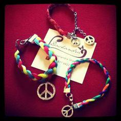 #handmade #accesories #bracelet #peace #dashandrahandmade
