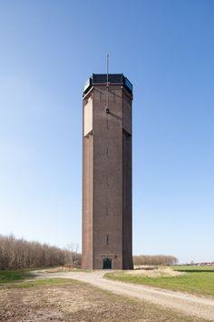 Watertoren getransformeerd tot uitkijktoren