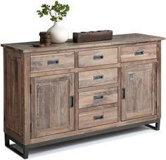 Porto Sideboard ~ We ordered this a month ago, and it was just delivered a couple of days ago. We absolutely love it. It's an 'Awesome' piece of furniture. Love It, Love It, Love It!!!