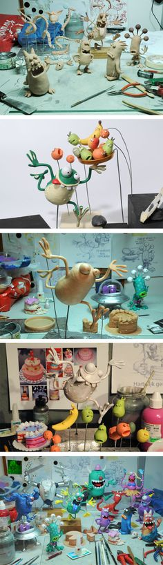 Hans Kievit - clay figurines