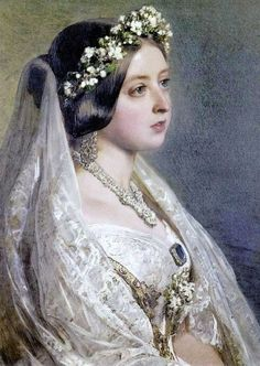 Imágenes Victorianas: La boda de la Reina Victoria.