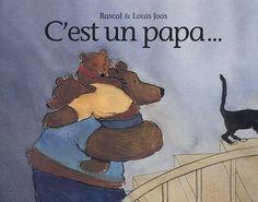 C'est un papa... de Rascal http://www.amazon.fr/dp/2211078745/ref=cm_sw_r_pi_dp_AB9Uvb08N0ETS