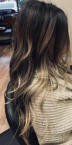 Beige Blond, Brown Blonde Hair, Brunette Hair, Brunette Color, Hair Color And Cut, Ombre Hair Color, Hair Colors, Ombré Hair, Hair Dos