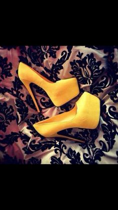 Yellow, those are so HOTT!!!!