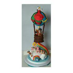 70's cartoon cake, tarta dibujos animados '70