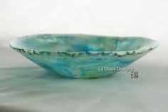 Fused Bowl by Linda Indalecio @ LJ Glass Designs