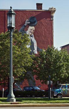 Mural Jim Tarbell in Over the Rhine in Cincinnati, OH