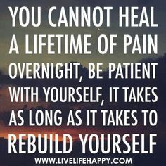 Rebuild Yourself - Sober Inspirations - Sign up for daily inspirations to help you on your road to sobriety. You can sign up a loved one too.