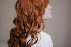 Perfect mermaid curls!