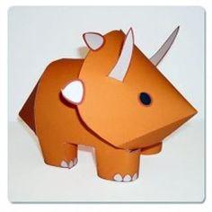 paper dinosaur!