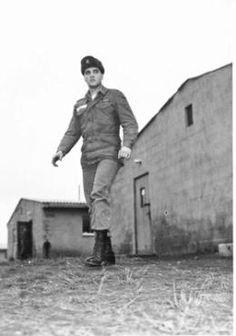 Elvis Presley as a soldier in Grafenwoehr.