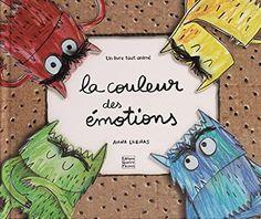 La couleur des émotions : un livre animé pour découvrir ses émotions