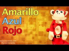 La Cancion de Los Colores con El Mono Silabo   Videos para Niños