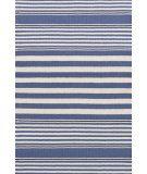 RugStudio presents Dash And Albert Beckham Stripe Denim Woven Area Rug.  i like the light blue one.
