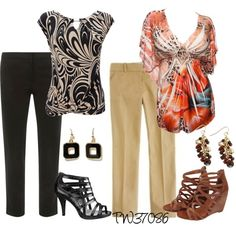 """""""My Summer Wear To Work"""" by tigerwoman37086 on Polyvore"""