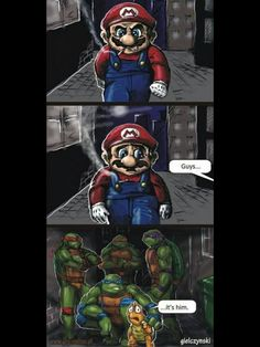 Turtle revenge
